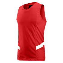 JORDAN23 Cotton Basketball Training Vest Red KL782100