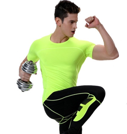 Men's Short Sleeve Compression Shirt KL722340