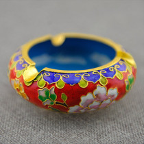 Beijing Cloisonne (Jingtailan) ashtray