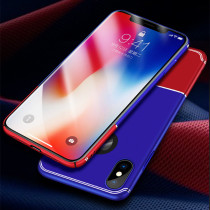 Unbreakable contrast color protect case for iPhone 10 a full package for iPhoneX mobile phone shell