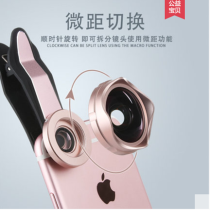 Mobile phone lens(ultra wide angle lens,micro lens and fisheye lens) all three in one set,single lens reflex camera,selfie external camera for iPhone