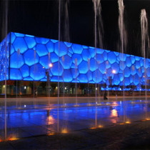 Beijing Olympic Venue and Olympic Park Observation Tower night tour