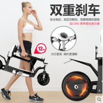 Foldable mini electric bike for adults and kids