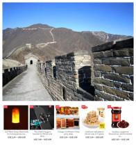 Beijing Mutianyu Great Wall,Forbidden City One-day tour with one or free gifts from 1 to 10 US Dollars