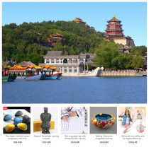 Summer Palace private guided half day tour with a free gift for each client from 1 to 10 US Dollars