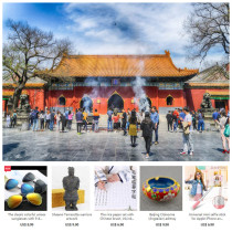 Lama Temple,Confucius Temple,Imperial College private guided half day tour with a free gift for each client from 1 to 10 US Dollars