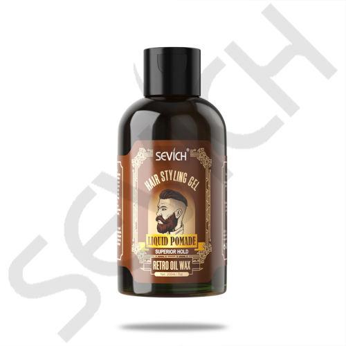 Sevich Hair Styling Gel 200ml Retro Hair Styling Gel Moisturizing Hair Styling Men Pomade Gel Salon SUPERIOR Hold Liquid Pomade Hair Gel
