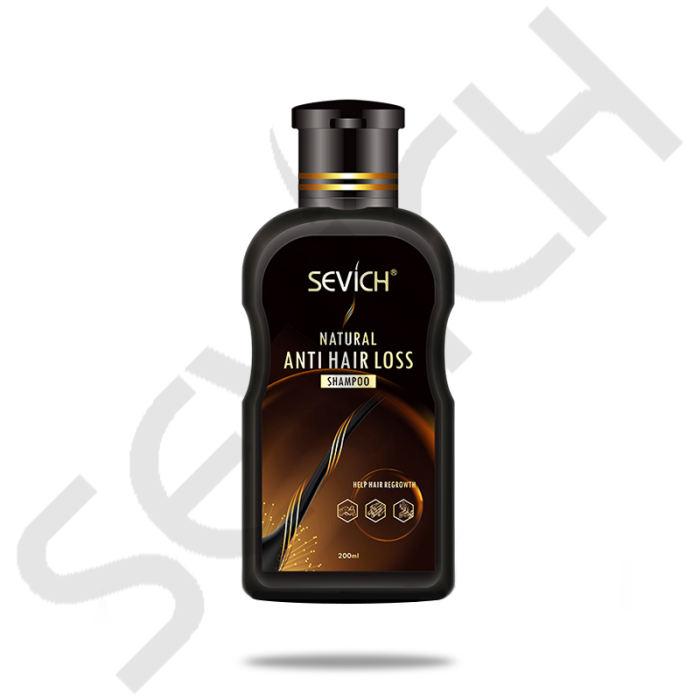 Anti-HairLoss Shampoo sevich 200ml hair loss treatment shampoo hair care shampoo bar ginger hair growth shampoo
