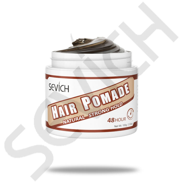 Hair Pomade Sevich Men Hair Pomade Wax 48 Hour Restoring Pomade Wax Natural Strong Hold Styling Hair Wax Original Hair Clay Pomades Waxes