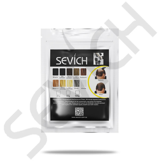 Hair Fiber Refill Bag(10 colors)Building Fibers Hair Loss Concealer Thicken Powder Hair Care Product Growth Keratin Salon Hair Treatment