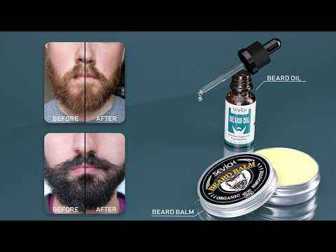 Beard Oil Sevich Natural 20ml Men Beard Oil for Styling Beeswax Moisturizing Smoothing Gentlemen Beard Care Conditioner Growth Products