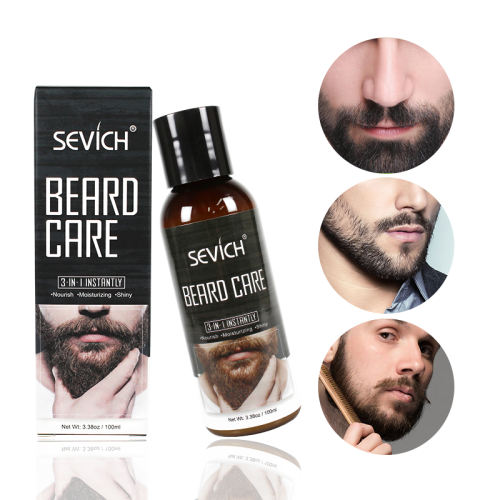 Beard Care Sevich 100ml Beard Care Nourish Beard Conditioner Hair Loss Products Whiskers Conditioner for Moisturizing Beard Styling