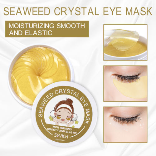 Eye Mask(Golden/Green) Sevich Gold/Seaweed Eye Mask Moisturizing Gel Eye patches Remove Dark Circles Anti Age Bag Eye Wrinkle