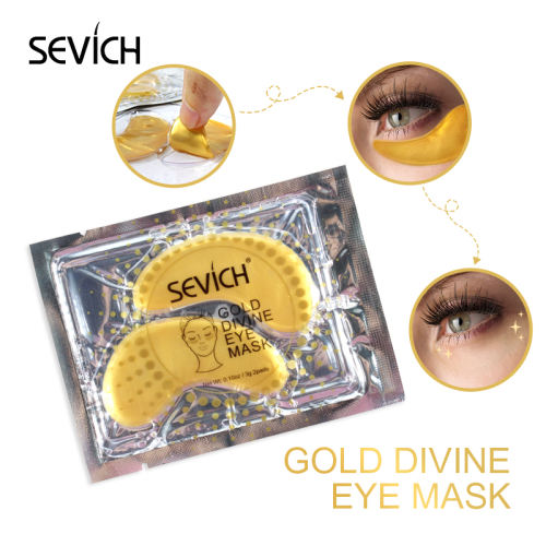 Gold Divine Eye Mask Sevich Gold Divine Eye Mask 5 Pairs Collagen Eye Mask Eye Patches For Eye Care Dark Circles Remove Anti-Aging Wrinkle Skin Care