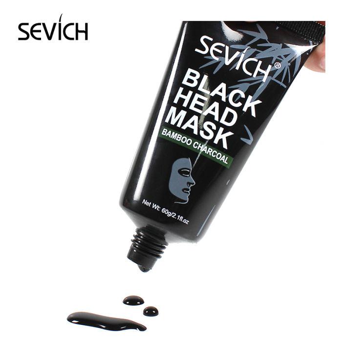 Black Head Mask Sevich Black Face Mask Blackhead Remover Deep Exfoliating Peel Off Mask Mud Lasting Moisturizing Nourish Whitening Masks Women