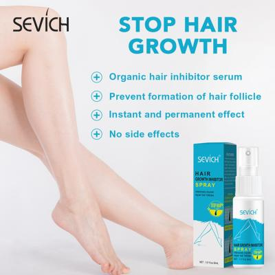 Hair Removal Spray & Hair Growth Inhibitor Spray Sevich 30ml Herbal Hair Removal Spray Fast Painless Hair Removal Removes Underarm Hair Body Care Gentle Not Stimulating Removal