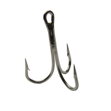1000 pieces/bag Sea Fishing Hooks Carbon Steel Anchor Hook Sharpened Treble Hook Peche Fish Fishing Tackle Fishhook 12/0# to 16#