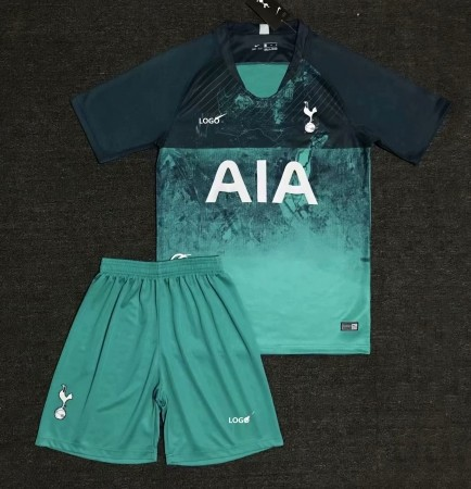 18/19 Adult Tottenham 3rd Soccer Uniform kit