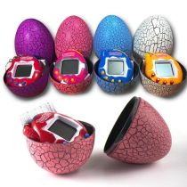 90s Nostalgic Virtual Cyber Pet Tamagotchi With Eggshell Retro Machine Toys Gift