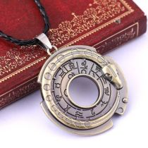 Unisex Metal Jewelry Lucky Amulet Pendant Necklace Protective Talisman Fashioner