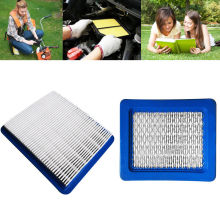 Square Lawn Mower Air Filters Accessories For Briggs & Stratton Garden Product