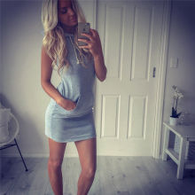 Boho Sexy Womens Sleeveless Party Evening Cocktail Summer Beach Short Mini Dress