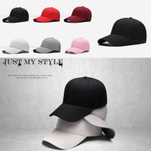 Unisex Blank Plain Snapback Hats Hip-Hop adjustable bboy Stylish Baseball Cap