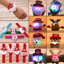 LED Christmas Luminous Circle Bracelet Wrist Band Xmas Gift Decoration Ornament
