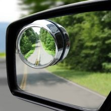 Latest Wide Angle Convex Car Blind Spot Round Stick-On Side View Rearview Mirror