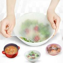 Multifunctional Plastic Wrap Seal Vacuum Food Magic Wrap Food Fresh Kitchen Tool