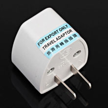 Universal EU UK AU to US USA AC Travel Power Plug Adapter Outlet Converter c1