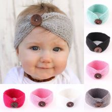 Cute Toddler Kids Baby Girl Knit Turban Hair Band Headwear Headband Accessories