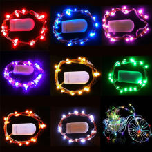 Super Stylish 10 LED Battery Power Operated Copper Wire Mini Fairy Light String