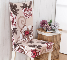 1Pc New Elastic Dining Room Wedding Banquet Chair Cover Washable Slipcover