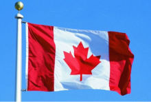 Large 3 x 5ft Canadian Canada National Flag Maple Leaf Banner Outdoor Indoor