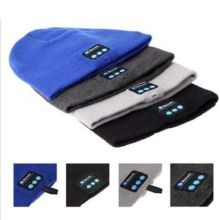 Soft Warm Beanie Hat Bluetooth Cap Wireless Headset Headphone Speaker Mic Lot