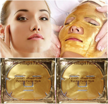 Gold Collagen Crystal Face Masks Anti Ageing Skin Care Facial Mask Set