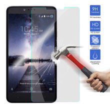 HD Tempered Glass 9H Explosion Proof Screen Protector Film For ZTE ZMax Pro Z981
