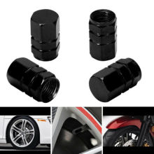 4Pcs Red Aluminum Tire Wheel Stem Valve Caps Tyre Cover Car Truck Bike Amazing