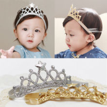 Girls Princess Headbands Baby Headwear Bow Crown Toddler Kids Hair Accessories