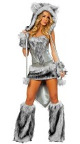 Animal Wolf Furry Costume