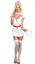 Sexy Clinic nurse role-playing Costumes
