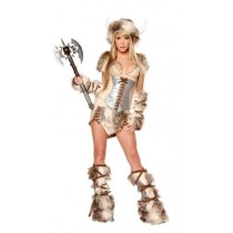 Viking Furry and Faux Leather Costumes
