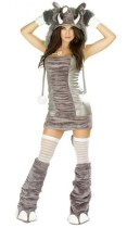 Halloween elephant plush Costumes temptation
