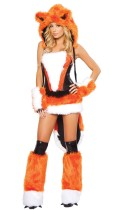 Sale Limited Edition Furry Orange Fox Costume
