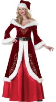 Long-sleeved dress Queen Christmas Queen Costume
