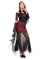 Pretty fascinating Vampire Countess long dress costumes