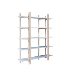 Barbizon bookshelf