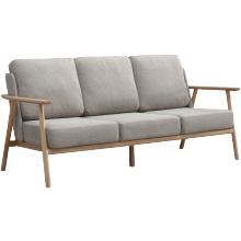 Barbizon Nordic wooden sofa