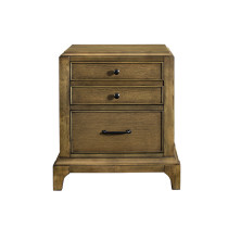 Taylor 3 Drawer Nightstand
